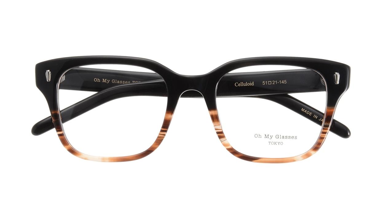 Oh My Glasses TOKYO Micha omg-084-2-51 [黒縁/鯖江産/ウェリントン]  3