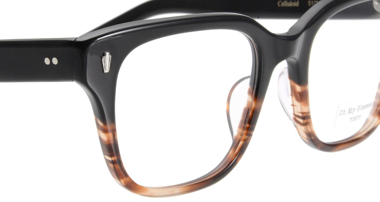 Oh My Glasses TOKYO Micha omg-084-2-51 [黒縁/鯖江産/ウェリントン]  4