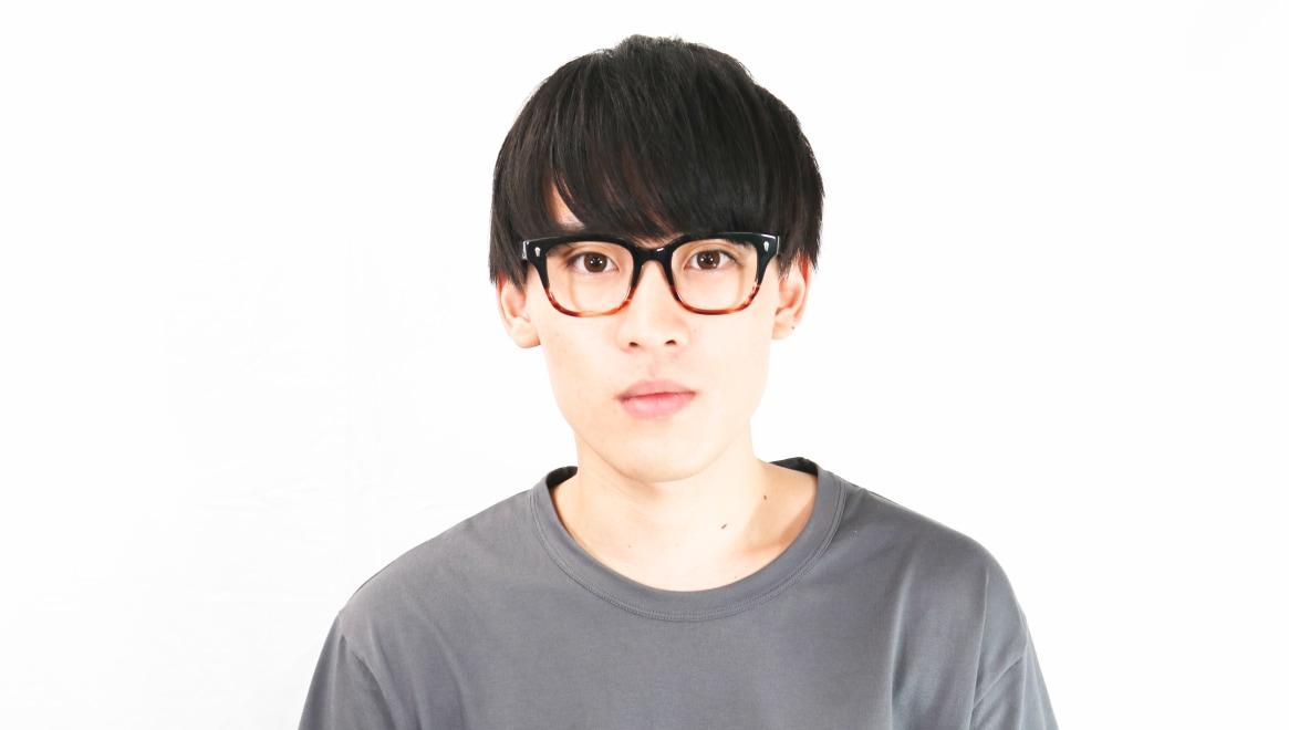 Oh My Glasses TOKYO Micha omg-084-2-51 [黒縁/鯖江産/ウェリントン]  6