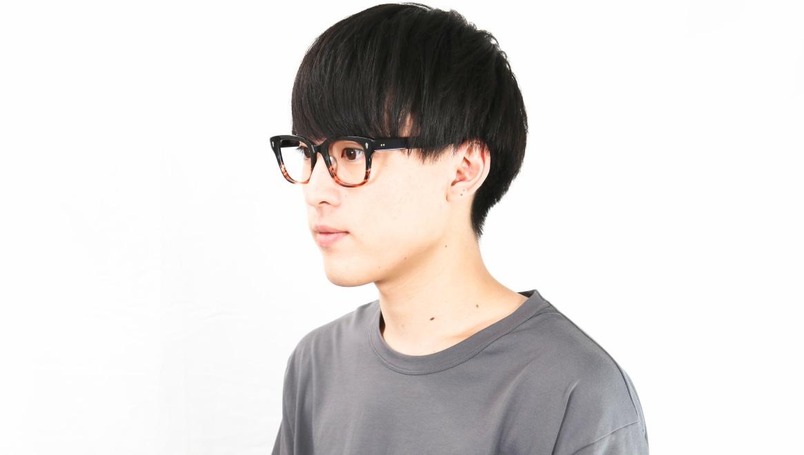 Oh My Glasses TOKYO Micha omg-084-2-51 [黒縁/鯖江産/ウェリントン]  7