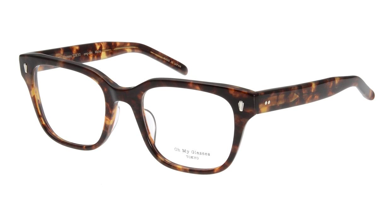 Oh My Glasses TOKYO Micha omg-084-3-51 [鯖江産/ウェリントン/べっ甲柄]