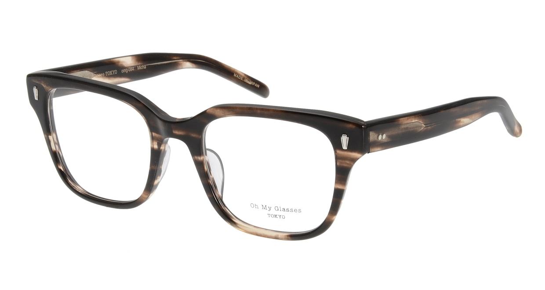 Oh My Glasses TOKYO Micha omg-084-4-51 [鯖江産/ウェリントン/茶色]