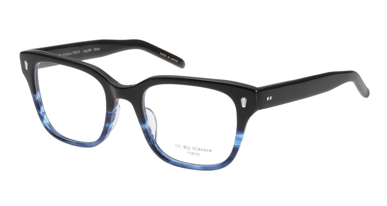 Oh My Glasses TOKYO Micha omg-084-6-51 [黒縁/鯖江産/ウェリントン]