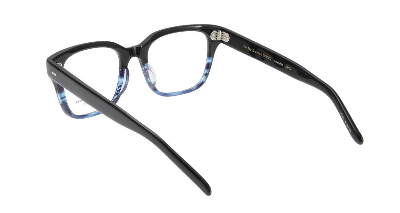 Oh My Glasses TOKYO Micha omg-084-6-51 [黒縁/鯖江産/ウェリントン]  2