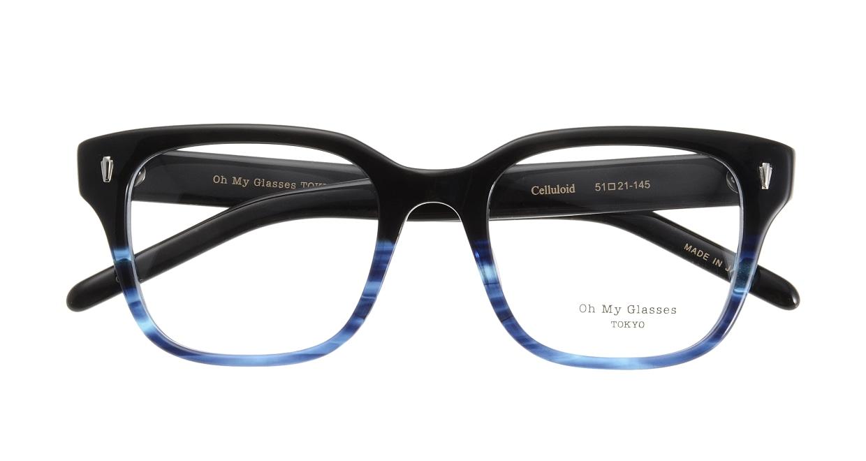 Oh My Glasses TOKYO Micha omg-084-6-51 [黒縁/鯖江産/ウェリントン]  3