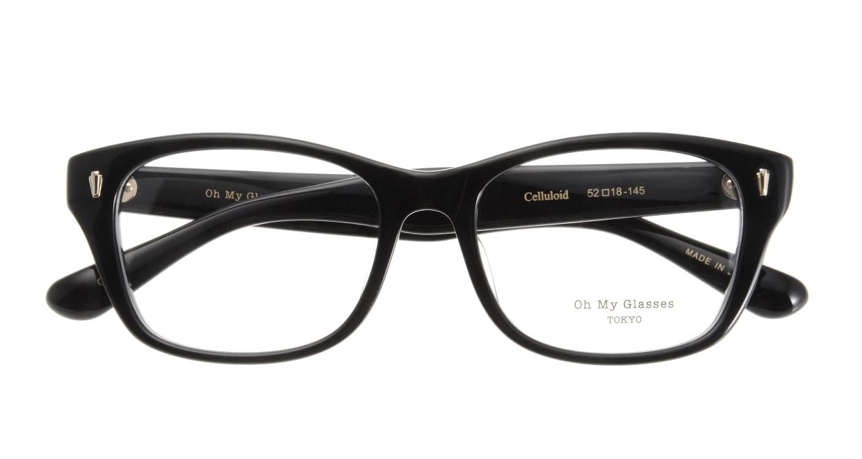 Oh My Glasses TOKYO Winston omg-085-1-52 [黒縁/鯖江産/ウェリントン]  3