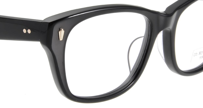 Oh My Glasses TOKYO Winston omg-085-1-52 [黒縁/鯖江産/ウェリントン]  4