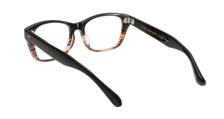 Oh My Glasses TOKYO Winston omg-085-2-52 [黒縁/鯖江産/ウェリントン]  2