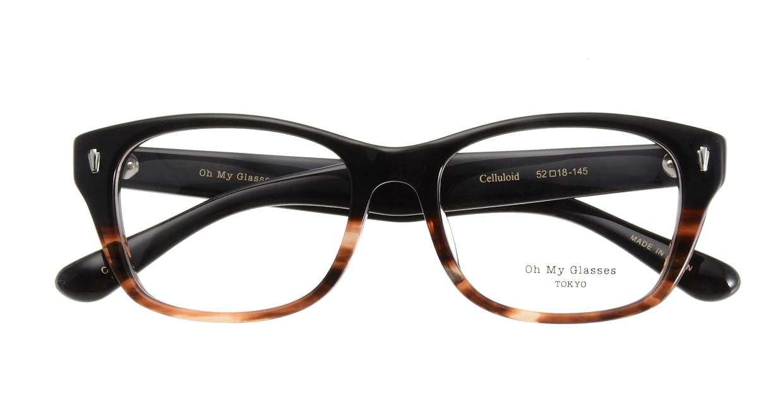 Oh My Glasses TOKYO Winston omg-085-2-52 [黒縁/鯖江産/ウェリントン]  3