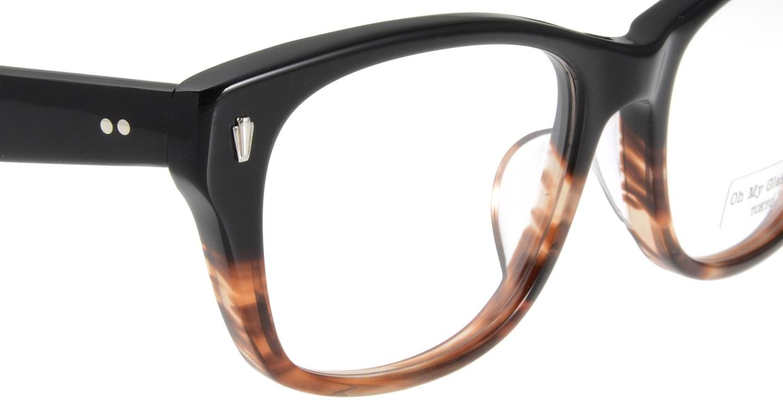 Oh My Glasses TOKYO Winston omg-085-2-52 [黒縁/鯖江産/ウェリントン]  4