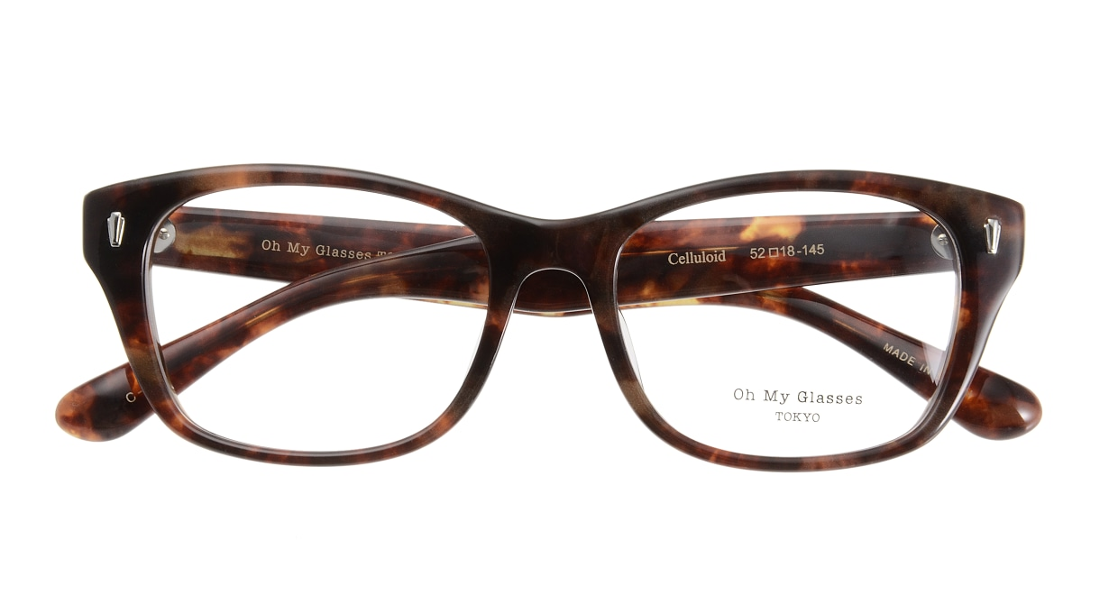 Oh My Glasses TOKYO Winston omg-085-3-52 [鯖江産/ウェリントン/べっ甲柄]  3