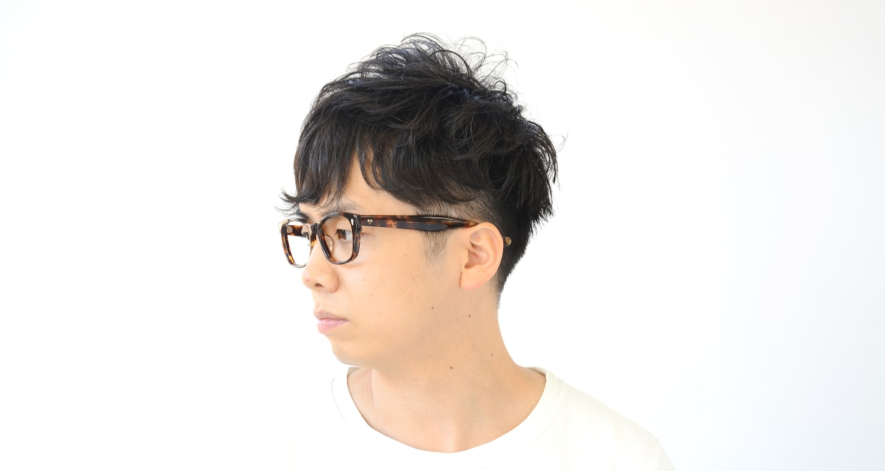 Oh My Glasses TOKYO Winston omg-085-3-52 [鯖江産/ウェリントン/べっ甲柄]  7