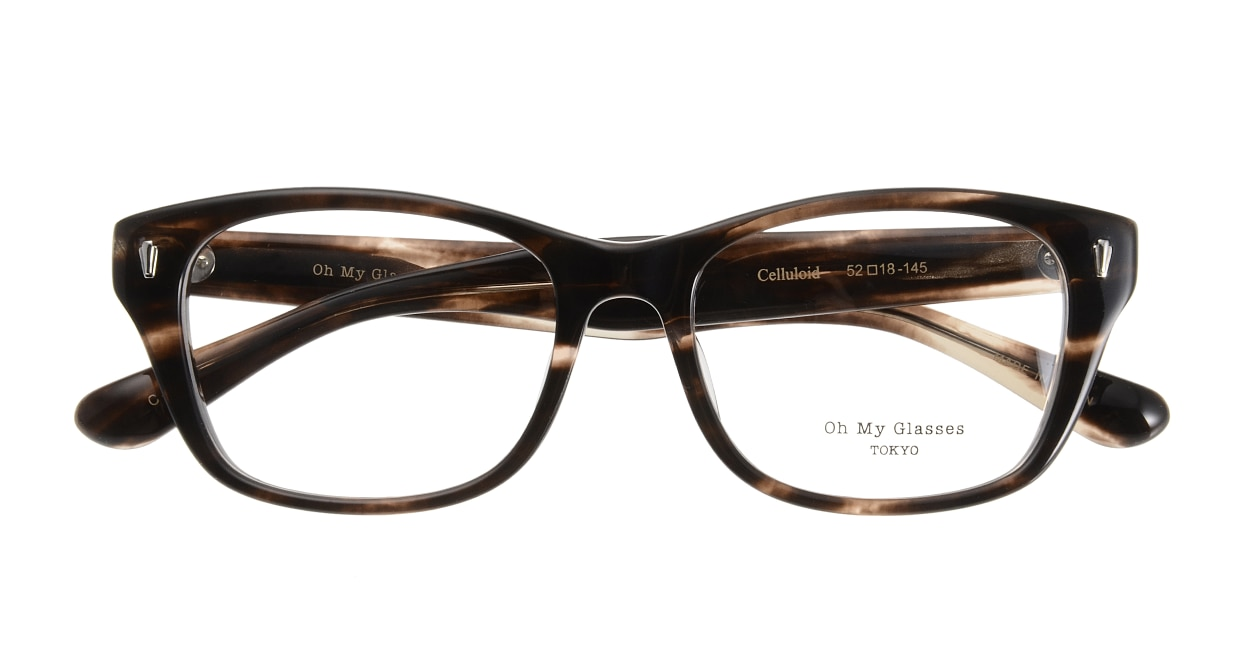 Oh My Glasses TOKYO Winston omg-085-4-52 [鯖江産/ウェリントン/茶色]  3