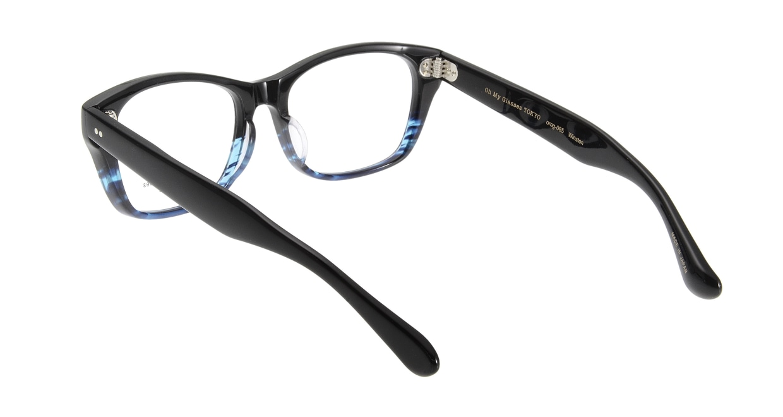 Oh My Glasses TOKYO Winston omg-085-6-52 [黒縁/鯖江産/ウェリントン]  2