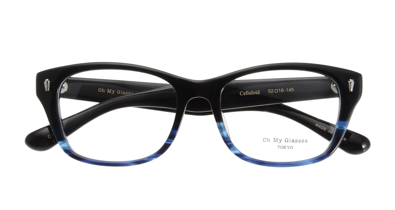 Oh My Glasses TOKYO Winston omg-085-6-52 [黒縁/鯖江産/ウェリントン]  3