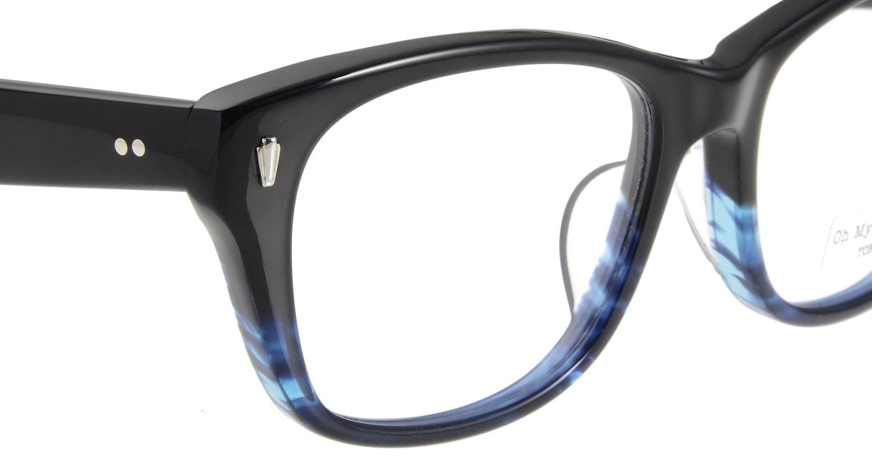 Oh My Glasses TOKYO Winston omg-085-6-52 [黒縁/鯖江産/ウェリントン]  4