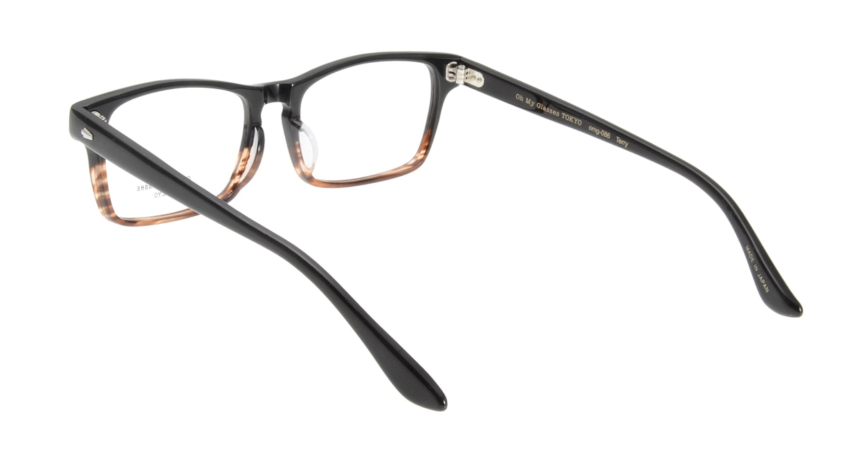 Oh My Glasses TOKYO Terry omg-086-2-53 [黒縁/鯖江産/ウェリントン]  2