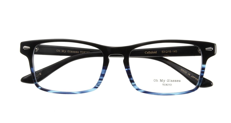 Oh My Glasses TOKYO Terry omg-086-6-53 [黒縁/鯖江産/ウェリントン]  3