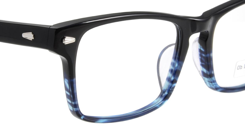 Oh My Glasses TOKYO Terry omg-086-6-53 [黒縁/鯖江産/ウェリントン]  4