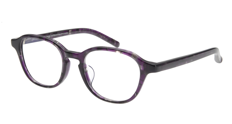 オウル boasorte Prets bs2706-3.PURPLE [丸メガネ/紫]