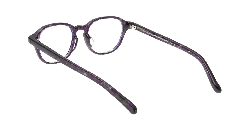 オウル boasorte Prets bs2706-3.PURPLE [丸メガネ/紫]  2