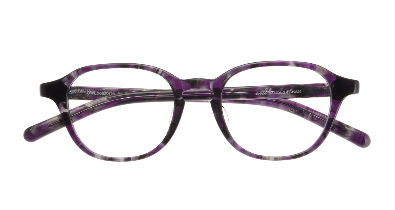 オウル boasorte Prets bs2706-3.PURPLE [丸メガネ/紫]  3