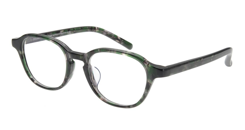 オウル boasorte Prets bs2706-4.GREEN [丸メガネ/緑]
