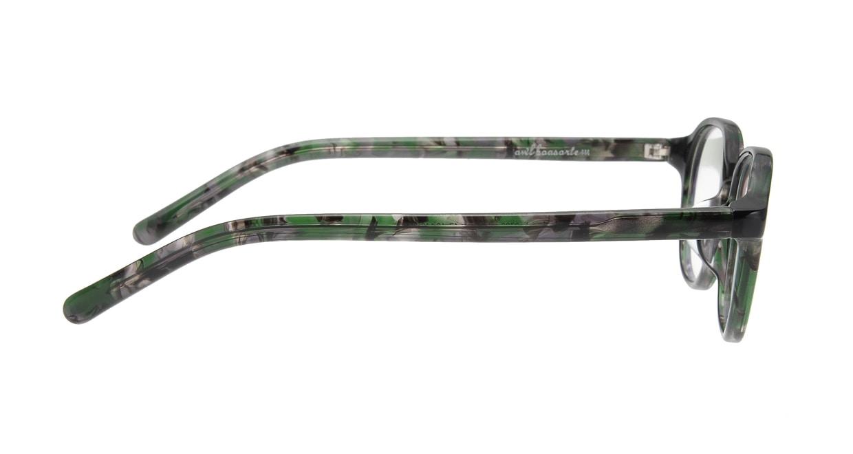 オウル boasorte Prets bs2706-4.GREEN [丸メガネ/緑]  1