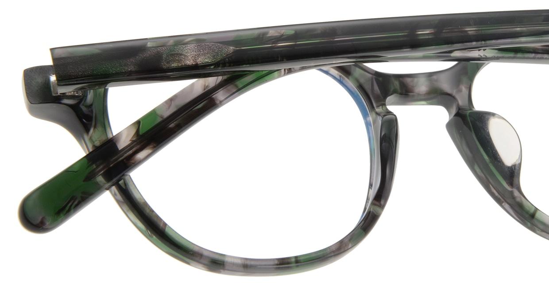オウル boasorte Prets bs2706-4.GREEN [丸メガネ/緑]  4
