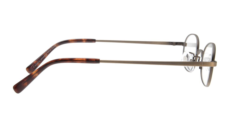 オニメガネ OG7217-AGR-46 [メタル/鯖江産/オーバル/グレー]  1