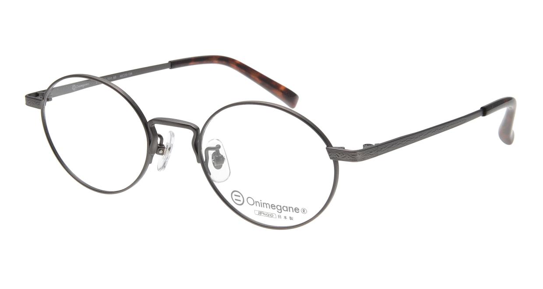 オニメガネ OG7011-AB-48 [メタル/日本製・鯖江産/丸メガネ]