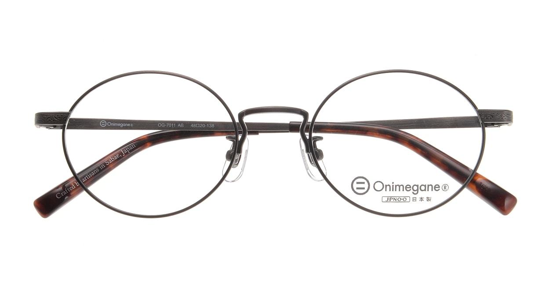 オニメガネ OG7011-AB-48 [メタル/日本製・鯖江産/丸メガネ]  3
