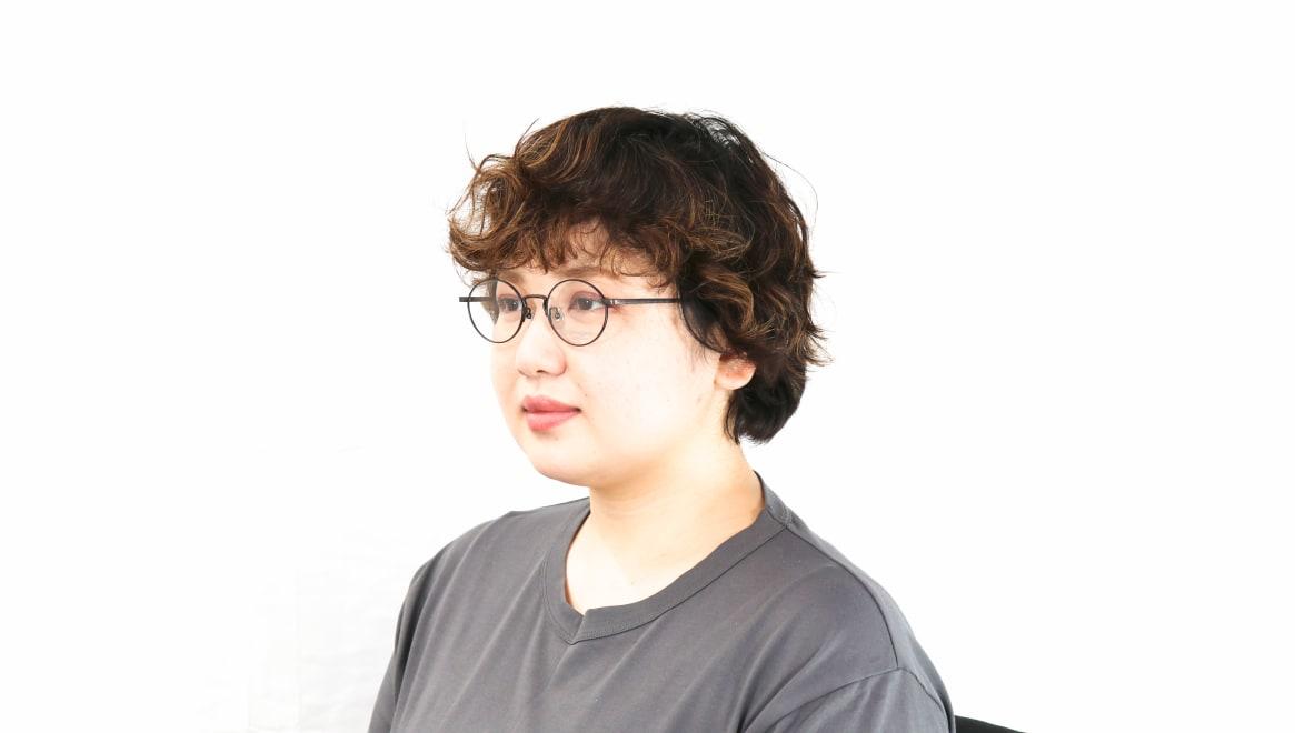 オニメガネ OG7011-AB-48 [メタル/鯖江産/丸メガネ]  8