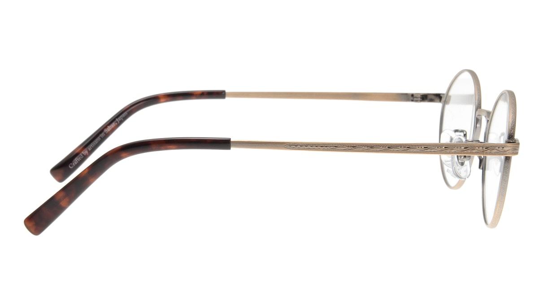 オニメガネ OG7011-AG-48 [メタル/鯖江産/丸メガネ/ゴールド]  1