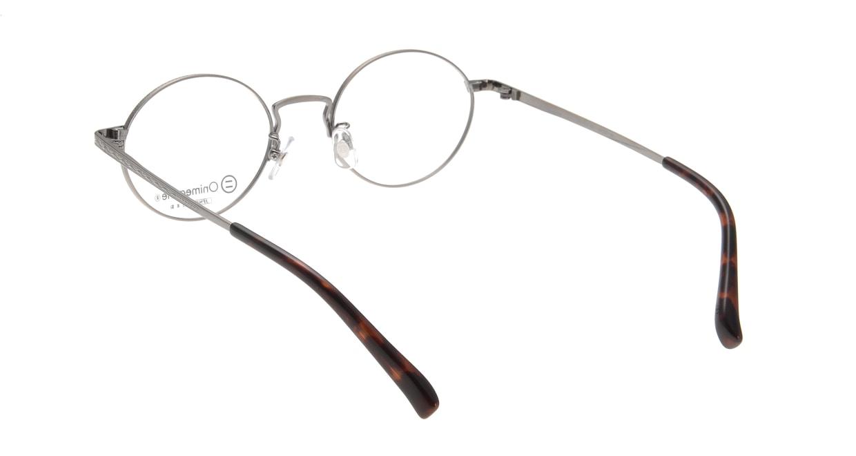 オニメガネ OG7011-AS-48 [メタル/鯖江産/丸メガネ/シルバー]  2