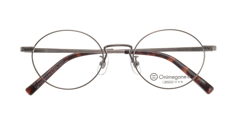オニメガネ OG7011-AS-48 [メタル/鯖江産/丸メガネ/シルバー]  3