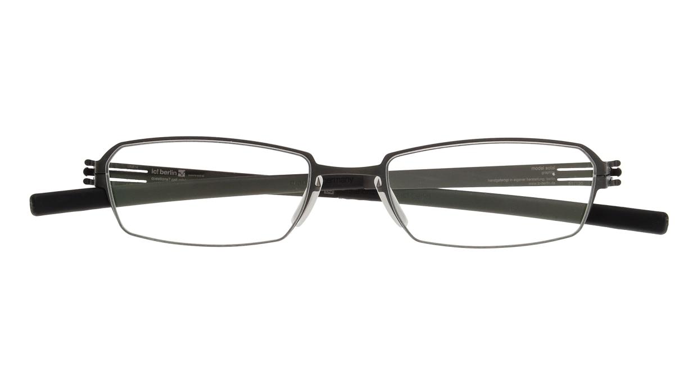 アイシーベルリン solal (flex)-graphite-rx clear [メタル/スクエア/グレー]  3