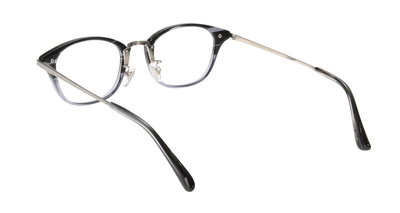 Oh My Glasses TOKYO Philip omg-054-11-48 [黒縁/鯖江産/ウェリントン]  2