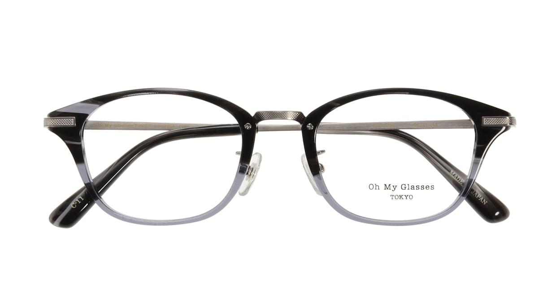 Oh My Glasses TOKYO Philip omg-054-11-48 [黒縁/鯖江産/ウェリントン]  3