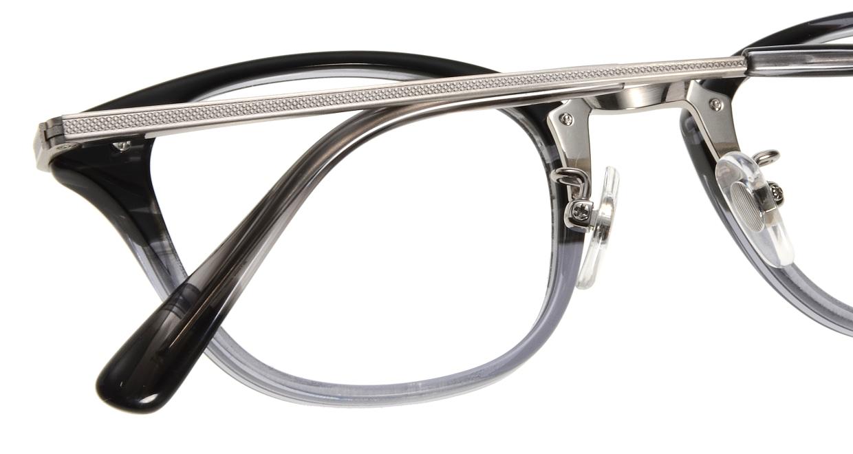 Oh My Glasses TOKYO Philip omg-054-11-48 [黒縁/鯖江産/ウェリントン]  4