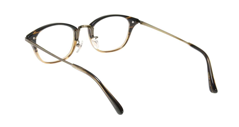 Oh My Glasses TOKYO Philip omg-054-12-48 [鯖江産/ウェリントン/茶色]  2