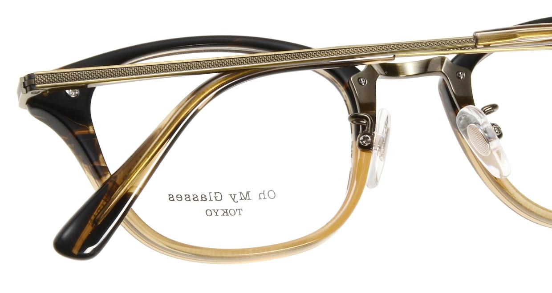 Oh My Glasses TOKYO Philip omg-054-12-48 [鯖江産/ウェリントン/茶色]  4