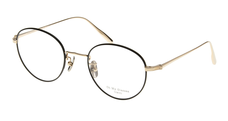 Oh My Glasses TOKYO Cecil omg-064-5-49 [メタル/鯖江産/丸メガネ]