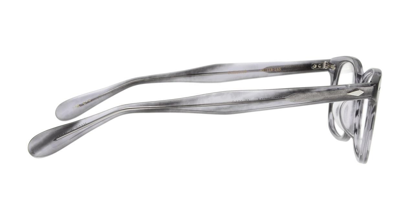 ハンドメイドアイテム H-4010-C-4-52 [鯖江産/ウェリントン/グレー]  1