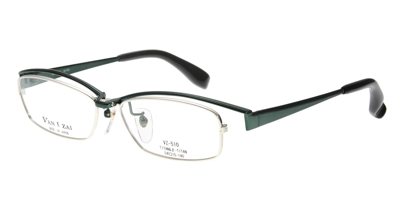 バンザイ VZ-510-C-7-54 [メタル/鯖江産/スクエア/緑]