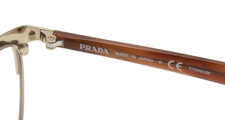 プラダ PR56TVD-IAK101-55 [メタル/ウェリントン/ゴールド]  5