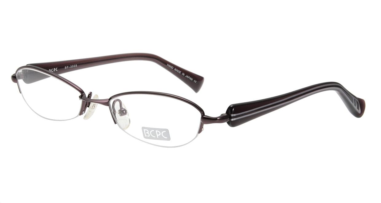 ベセペセ BP-3008-4-51 [メタル/鯖江産/ハーフリム/フォックス/茶色]
