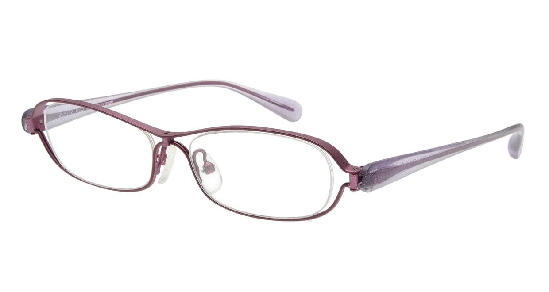 ベセペセ BP-3142-1-52 [メタル/鯖江産/オーバル/紫]
