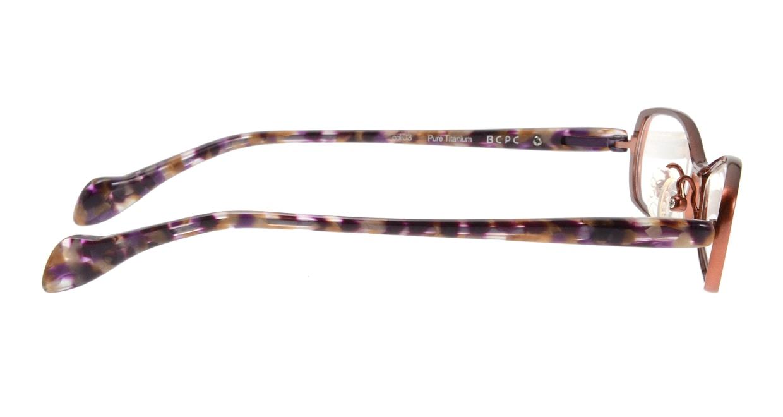 ベセペセ BP-3065-3-51 [メタル/鯖江産/スクエア/赤]  1