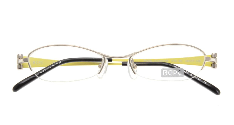 ベセペセ BP-7010-2-49 [メタル/鯖江産/ハーフリム/オーバル/シルバー]  3